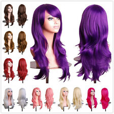 US Sale Heat Resistant Synthetic Hair Wig Costume Cosplay Wig Halloween Dress