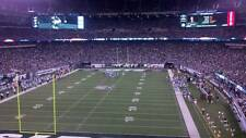 2 New York Jets vs New England Patriots tickets 10/15/17 (NY/NJ) MetLife Stadium