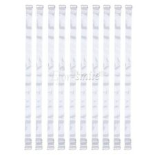 5 Pairs Silicone Transparent Non-slip Clear Invisible Shoulder Bra Straps Holder