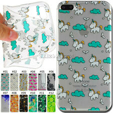 Cute Ultra thin Silicone Skin Soft TPU Back Case Cover For Apple iPhone 7 Plus