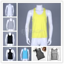 Gym Men Vest Bodybuilding Tank Top Muscle Clothing Workout Singlet Sport T Shirt