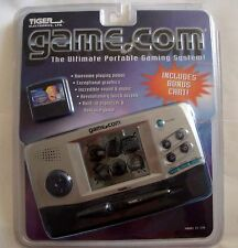Brand New Tiger Electronics GAME.COM Portable Game System Blister Pack with Game