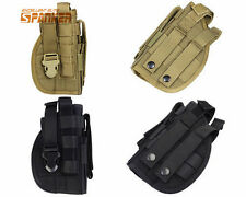 1000D Tactical Military Molle Right Hand Pistol Holster Pouch  Airsoft Hunting