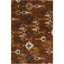 Surya Brown Modern Southwest Lodge Contemporary Area Rug All-Over SUR-1011