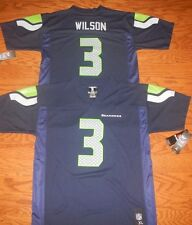 Seattle Seahawks Russell Wilson Youth Sizes Replica NFL Team Apparel Jersey
