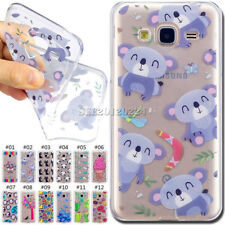 Silicone Rubber Cover TPU Gel Soft Case Back Skin For Samsung Galaxy J3/J3(2016)