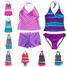 Girls Kids Swimwear Swimsuit Tankini Bikini Sets Bathing Suits Swimming Costume