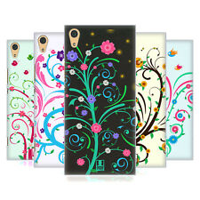 HEAD CASE DESIGNS VINES AND FLOWERS BACK CASE FOR SONY XPERIA XA1 ULTRA / DUAL