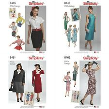 Vintage Retro 40s 50s Simplicity Sewing Pattern New 2017 Misses You Pick