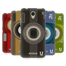 HEAD CASE DESIGNS CAMERA PATCHES HARD BACK CASE FOR LENOVO B / VIBE B