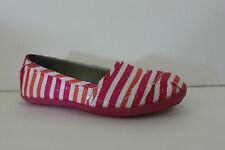 Girl Kenneth Cole Reaction Shoe Size 13  2 M Youth  Pink Textile Slip On Sandal