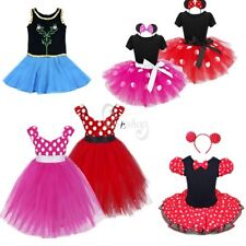 Baby Girls Halloween Minnie & Princess Cosplay Halloween Fancy Dress Costume Set