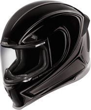 Icon Black Airframe Pro Halo Motorcycle Full Face Street Helmet DOT ECE 22-05