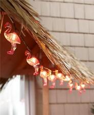TROPICAL FLAMINGO OR PINEAPPLE 10 COUNT STRING LIGHT SET FESTIVE PARTY LIGHTS