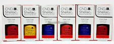 Cnd Shellac Gel Polish - NEW WAVE Collection 0.25oz/7.3ml - Pick Any Color