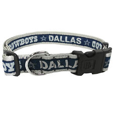 Dallas Cowboys NFL Dog Pet Collars Single-Sided (All Sizes)
