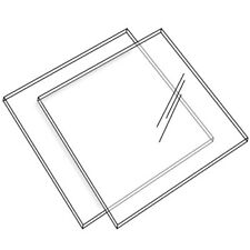 Ganaching Square Plate Acrylic Disc Cake Decorating Perspex  (DS44)