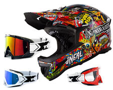 Oneal Warp Downhill Helmet Crank Multi Multicolour matte DH Mountain Bike with