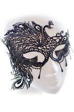 New Peacock Victorian Venetian Masquerade Lace Elegant Eye Mask Costume Popular