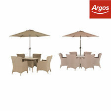 Heart of House Seychelles Patio Set - 4 / 6 Seater -From the Argos Shop on ebay
