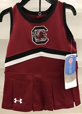 New $37 Infant Toddler Cheerleader Outfit SC Gamecocks Under Armour - Halloween