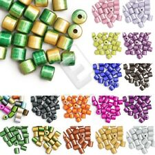 20/25pcs Acrylic Miracle Beads Illusion Cylinder Jewellery 8.5x8.5mm/10x8mm Lots