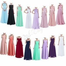 Long Women Formal Evening Ball Gown Party Prom Bridesmaid Dress Cocktail Maxi
