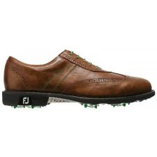 Footjoy Icon Golf Shoes Brown-52252-New Closeout Mens-Cleated