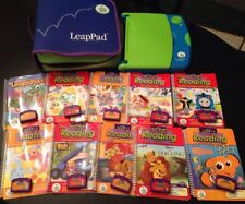 Leap Frog Leap Pad Learning System Lot - Case 10 Interactive Books Cartridges