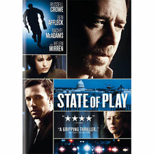 State of Play (DVD, 2009) Russell Crowe, Ben Affleck