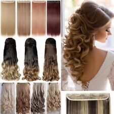 Real New Color Thick Clip In Hair Extensions Half Full Head Hair Extension LS9