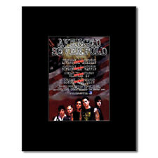 AVENGED SEVENFOLD - UK Tour 2007 Mini Poster