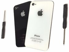 NEW Replacement iPhone 4/4S Glass Back Door Cover W/Tool A1332 A1387 US SELLER!