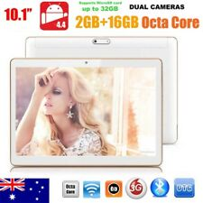 10inch HD Dual SIM Camera 3G Octa Core Tablet PC Android 4.4 2Gb+16GB Bluetooth