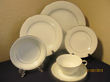 "NORITAKE 6115 ""WHITEHALL"" THREE 6 PC PLACE SETTINGS DISCON. 1979  $216 VALUE"