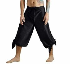 'SILK WRAP PANTS' Pirate - BLACK
