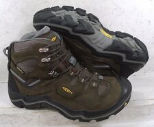 Keen Mens Durand Mid WTP Cascade Brown Hiking Boots 1011550 shoes 10 M US 43 EU