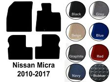 Nissan Micra (2010 to DATE) Fully Tailored Car Floor Mats Choice of Quality