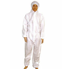 4 X BOILER SUIT COVERALLS OVERALLS COTTON PAINTERS BAKERS WORK DIY PROTECTIVE