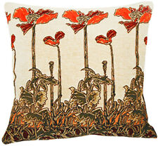 Champ Art Nouveau French Tapestry Cushion Pillow Cover - 18 x 18 - NEW