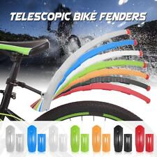 Bike Fenders Bicycle Cycling Front Rear Splash Tire Mudguard  Telescopic Z0S5