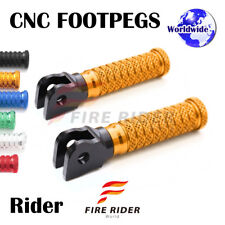 FRW CNC 6Color Front Footpegs For Honda NTV/NT 650 Hawk 88-92 88 89 90 91 92