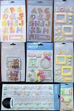 C.R.Gibson Cathy Heck Zoophabet 2 Scrapbooking Supplies-You Choose items u want