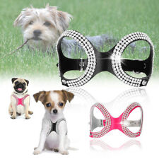Small Pet Dog Harness Soft Vest Puppy Collar For chihuahua yorkie Teacup 26-34cm