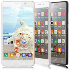 "2017 Android 5.1 Quad Core Dual SIM 3G GPS Mobile Phone Unlocked 5.5"" Smartphone"