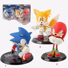 Sonic the Hedgehog Collectible Sonic / Tails / Knuckles 10-14cm PVC Figure WB&NB