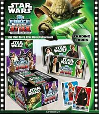 Star Wars Force Attax - Movie Card Series 2 - Force Master Cards 225 - 240