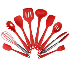 10 pieces Kitchen Utensil Set Silicone Spoon Baking Cooking Baking Tools