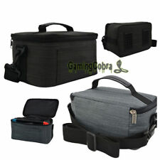 Travel Carrying Storage Bag Dock W/ Strap For Nintendo Switch Console Controller
