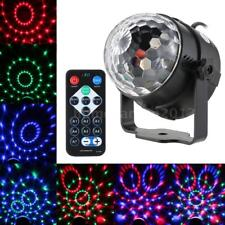 5W RGB Remote Control Mini LED Magic Ball Lamp Stage Effect Light Party E0A3